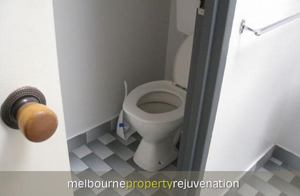 Bathroom tileing