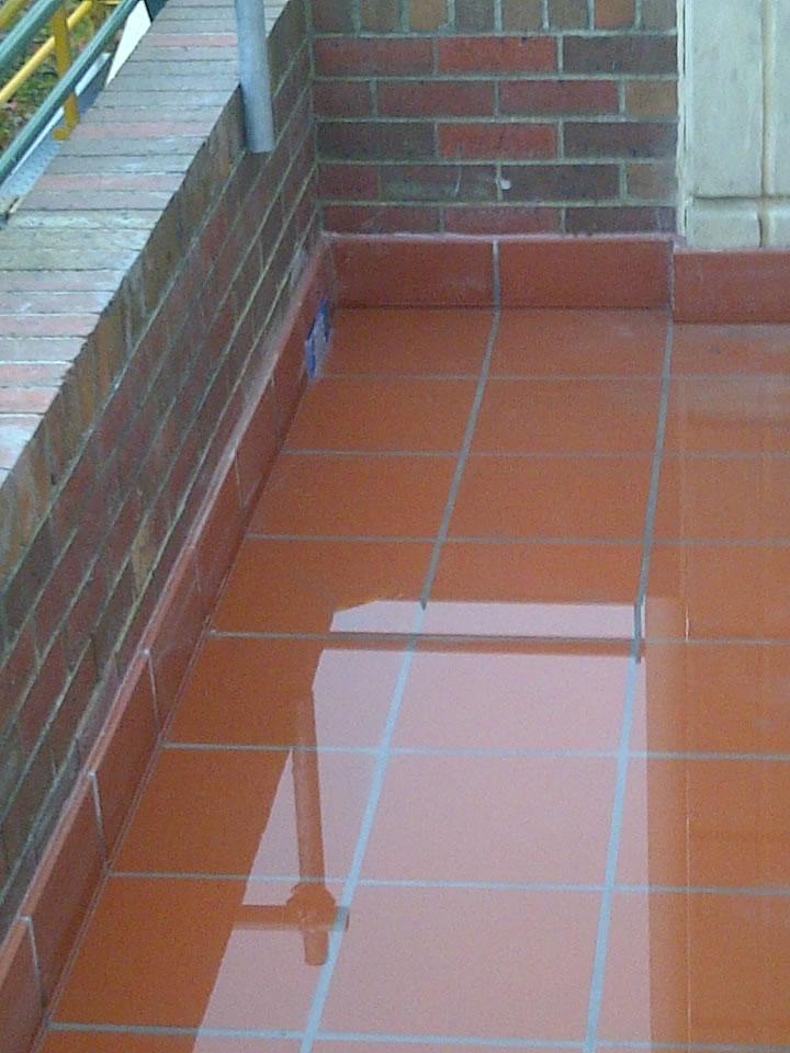 Repair And Waterproof Leaking Balconies Terraces Planter